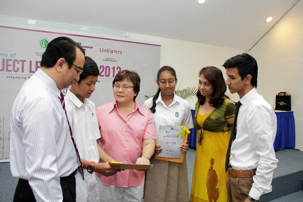 The Beginning of a New Journey: Project Lend-a-Hand Completion Ceremony