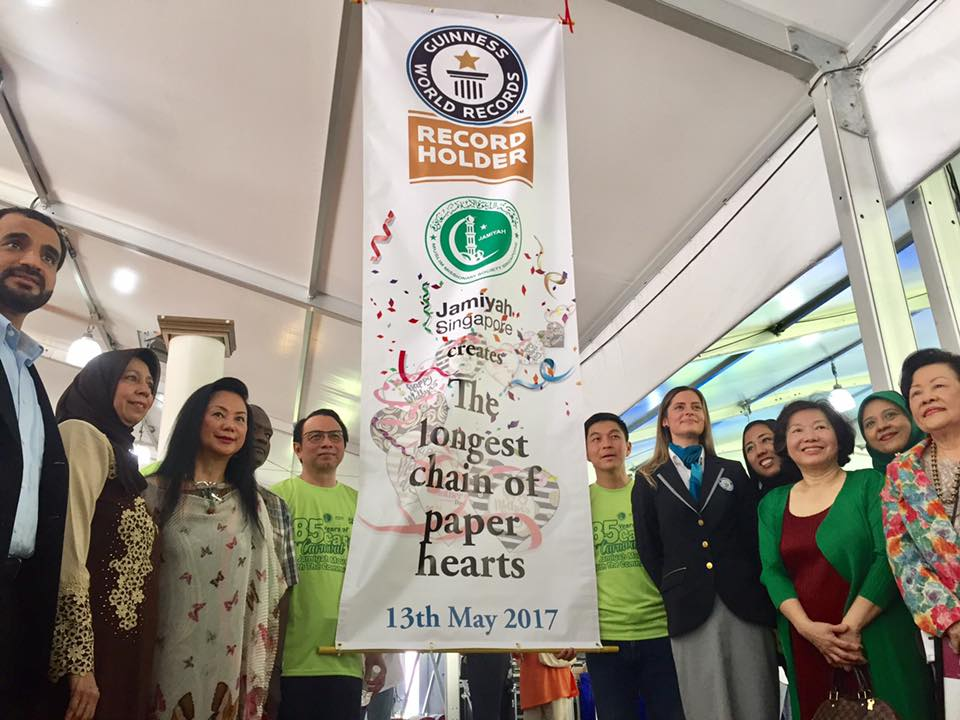 A Guinness World Record for Jamiyah Singapore