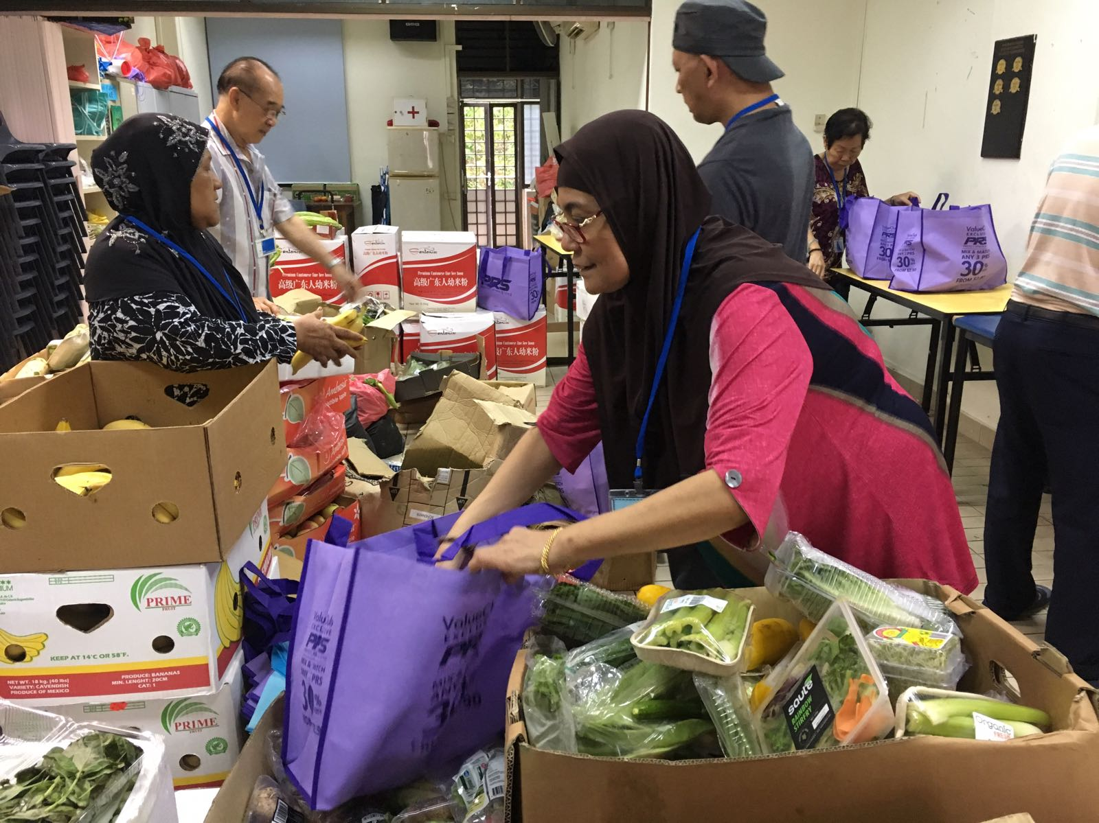 Weekly Food Ration Distribution at Henderson