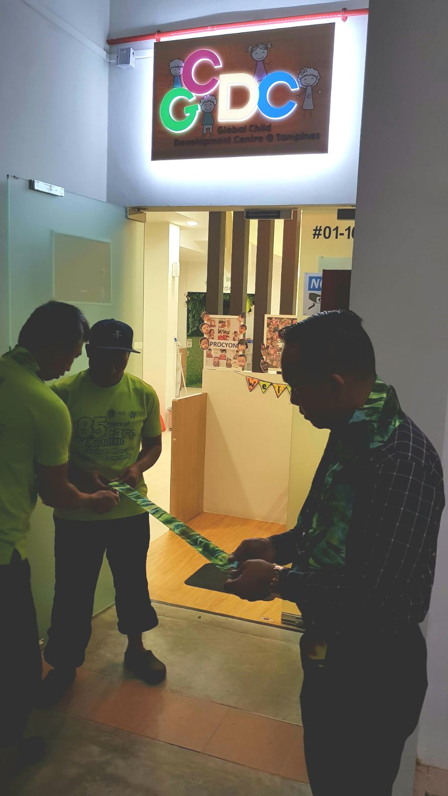 Jamiyah Halfway House prepares for Official opening of GCDC @ Tampines