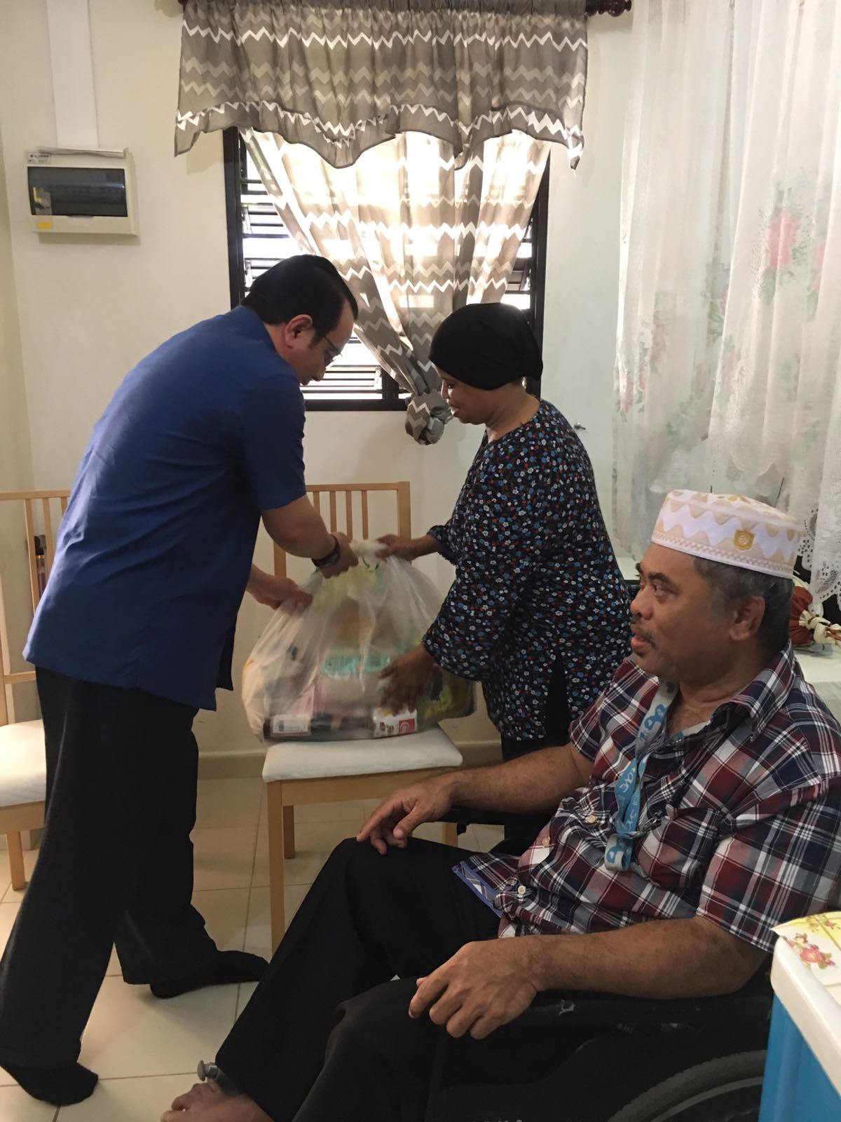 Jamiyah Conducts House Visits for its Beneficiaries