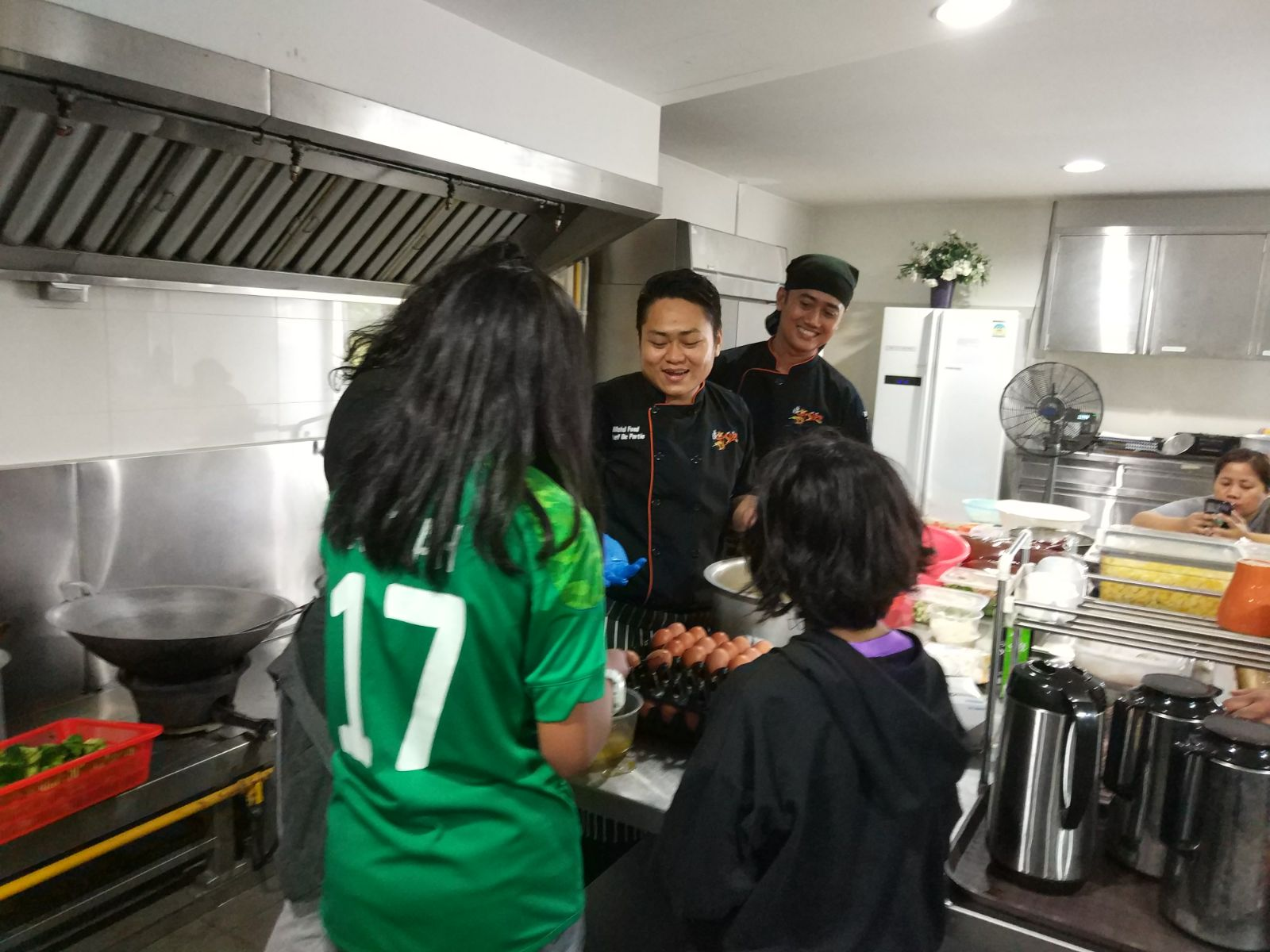 JCH participates in Cycling Activity cum Cooking