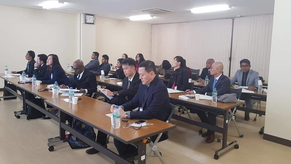 Officials of Jamiyah Singapore on a Study Trip to Tokyo