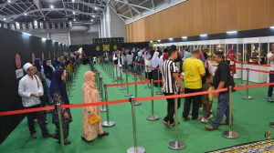 Queuing Efficiency for Artefacts of Rasulullah SAW & His Companions RA Exhibition 2018
