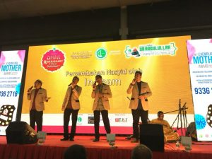 Closing Act from In-Team at the Artefacts of Rasulullah SAW & His Companions RA Exhibition at Singapore EXPO