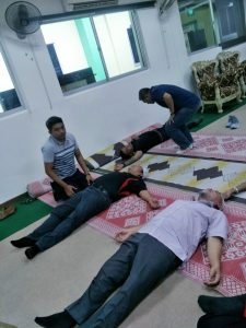 First Aid Course at Jamiyah Halfway House