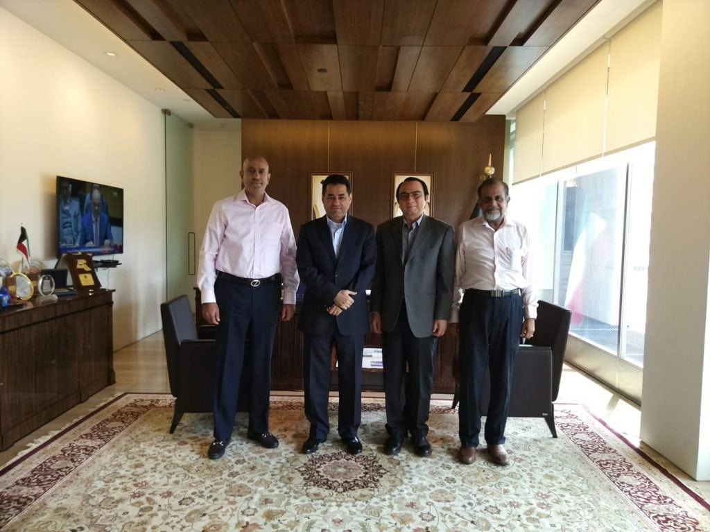Officials of Jamiyah visits Embassy of the State of Kuwait in Singapore
