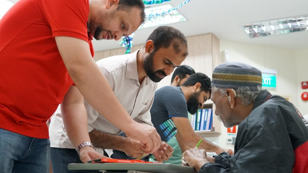 Volunteers from Malabar Mosque and Other Mosques at JNH