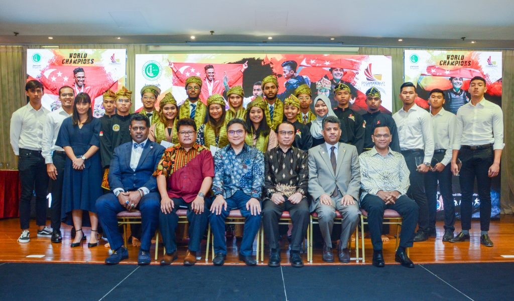 Honouring our Singapore Silat Champions!